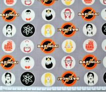 The Big Bang Theory designer quilt cotton for patchwork