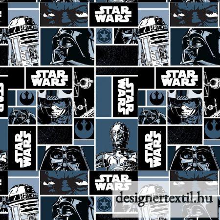 Star Wars klasszikusok pamutvászon (Star Wars Classic Blocks)