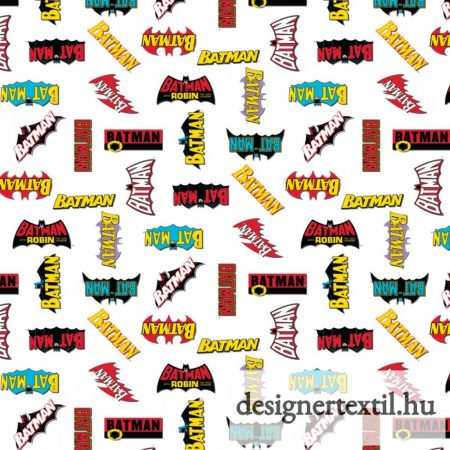 Batman logók pamutvászon (Batman Logo History)
