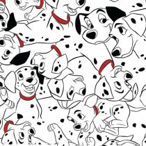 Disney 101 kiskutya pamutvászon (101 Dalmatian Dots)