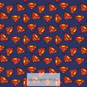 Superman logo pamutvászon méteráru - (Superman Logo)