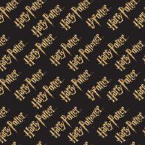 Harry Potter logó pamutvászon méteráru - (HP logo)