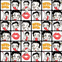 Betty Boop Kissed Tiles Camelot Fabric