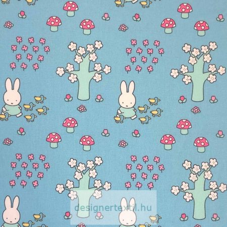 Miffy nyuszi pamutvászon - Miffy Spring