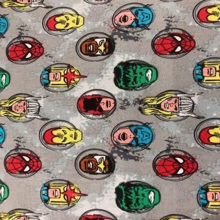 Marvel Comics pamutvászon (Marvel Comics - Characters in Stone)