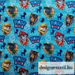 Mancs őrjárat fiúk pamutvászon (Paw Patrol Boys Badges Cotton)