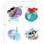 Disney hercegnők panel 90x112 cm (Explore New Worlds Panel)