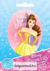 Belle felvasalható matrica (Ad-Fab)