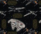 Star Wars The Last Jedi quilt cotton fabric Dark Side