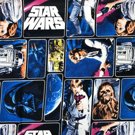 star wars textil pamutvászon anyag