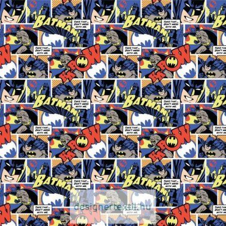 Batman Pop Comics pamutvászon méteráru - ( Batman Pop Comics)