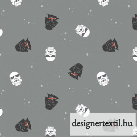 Star Wars Birodalmiak flanel méteráru - (Grey Empire Dreams Flannel)