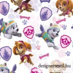 Mancs őrjárat lányok pamutvászon (Paw Patrol Girls Badges Cotton)