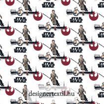 Star wars Rey flanel méteráru - (Multi Star Wars Rey & BB8 on Flannel)
