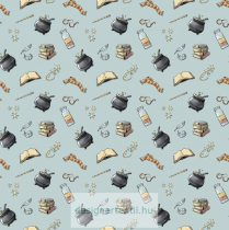 Harry Potter Blue Potion quilt cotton by Camelot Fabric
