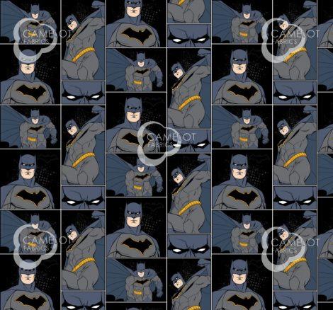 Batman quilt cotton fabric Justice League Activated