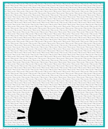 cat quilt pattern free