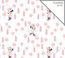 Minnie flanel anyag
