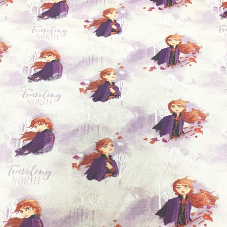 Anna - Frozen pamutvászon - (Disney Frozen 2-  Elsa Watercolour Fabric)