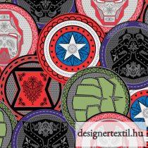 Marvel érmék pamutvászon (Marvel Coins)