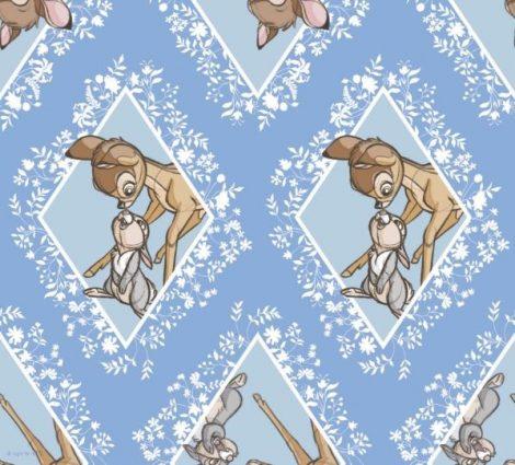 Disney Bambi pamutvászon anyag