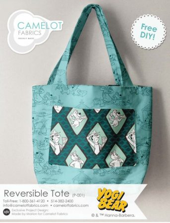 Reversible tote pattern