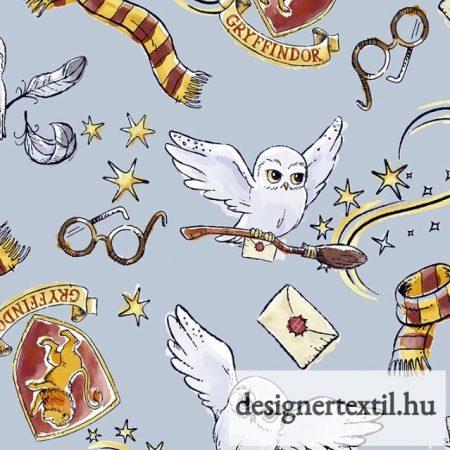 Harry Potter Varázslatos Griffendél pamutvászon (Harry Potter Magical Gryffindor)