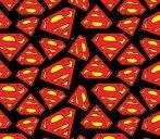 Superman flanel anyag