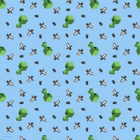 Minecraft pamutvászon (Mojang Minecraft Mini Mob Creeper)