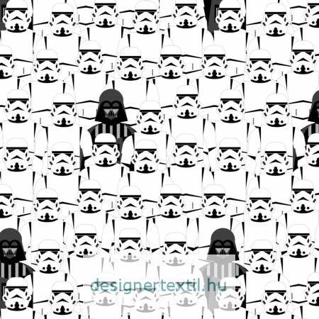 Star Wars Birodalmiak & Darth Vader pamutvászon (Star Wars Storm Troopers Cotton)