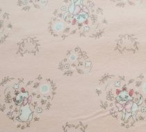 Marie cica flanel - Disney Sentimental  (Sweet Marie in Pink) - Kövér Negyed