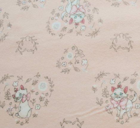 Marie cica flanel - Disney Sentimental  (Sweet Marie in Pink)