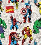 Bosszúállók - Marvel pamutvászon (Avengers United Marvel)