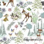 Disney Bambi & Friends pamutvászon