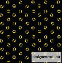 Mini Batman logó pamutvászon