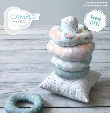 ring stacking toy pattern free