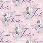 Csingiling rózsaszínben - pamutvászon  (Tink in Pink)