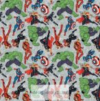 Batman Logo Overlay quilt cotton by Camelot Fabric