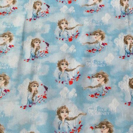 Disney Frozen 2-  Elsa Watercolour Fabric