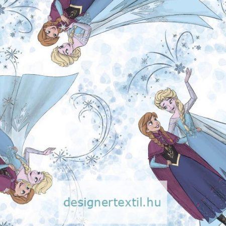 Jégvarázs pamut jersey (Disney Frozen Knit)