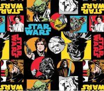 Star Wars flanel anyag