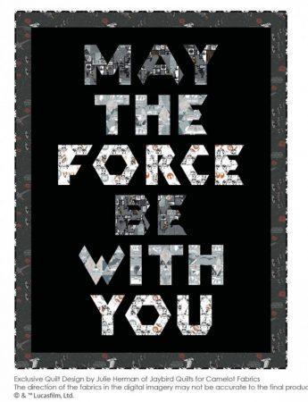 Star Wars quilt szabásminta - Ingyenes