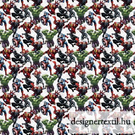 Marvel bosszúállók pamutvászon (Marvel Avengers Unite)
