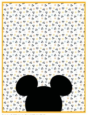 mickey quilt pattern free