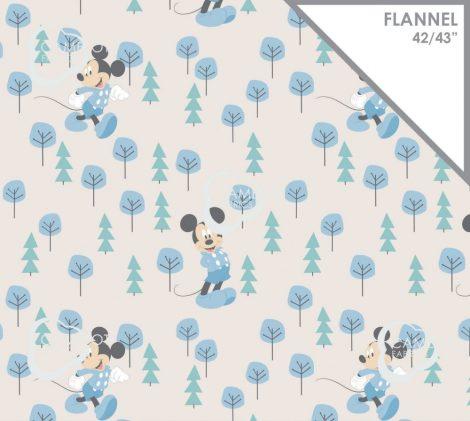 Mickey flanel anyag